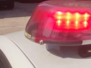 Polițiști în urmărire după ce l-au observat la volan pe un șofer prins recent beat