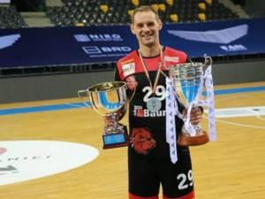 Răzvan Gavriloaia este om de bază la campioana României, Dinamo
