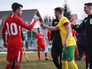 Jucătorii Bucovinei şi ai Forestei vor juca în ultima etapă cu gândul la baraj. Foto Cristian Plosceac