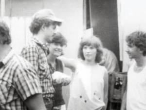 Gabriela Eminovici, cu prietenii de la Suceava, în 1981