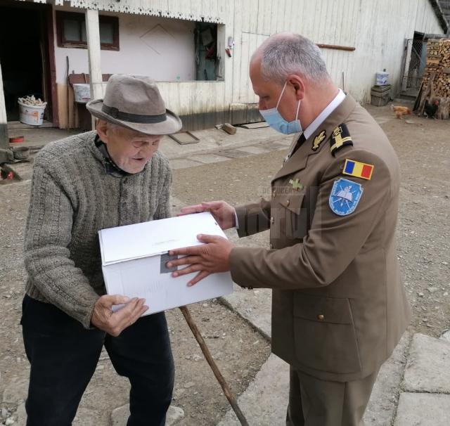 """Campania """"Alături de veterani"""" în județul Suceava (10)"""