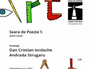 Poetul Dan Cristian Iordache și poeta Andrada Strugaru, invitați la Seara de poezie – serie nouă