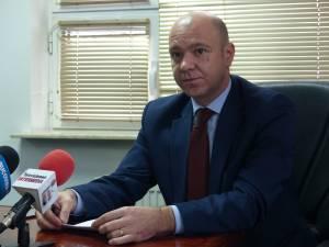 Cristi Bleortu, directorul interimar al CAS Suceava