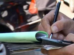 Șoferul s-a ales cu dosar penal și a fost amendat. Foto: maramedia.ro