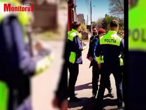 Intervenția poliţiei la scandalul de sâmbătă