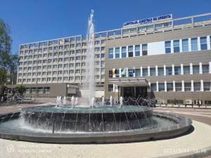 Fântâna arteziană de la Spitalul Suceava a fost repusă în funcțiune