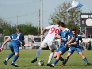 Bucovina Radauti a pierdut calificarea în meciul retur cu Dacia Unirea Brăila. Foto Cristian Plosceac