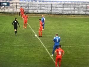 Viitorul a pierdut meciul tur al barajului pentru promovarea in Liga a III-a