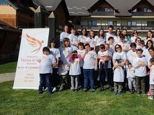 Tabăra de la Vama pentru copii cu autism și sindrom Down