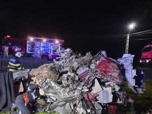 Imagini de coșmar de la locul accidentului