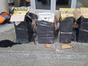 Focuri de armă pentru prinderea unor contrabandiști de țigări