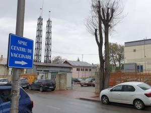 """Centrul de la Colegiul Național """"Ștefan cel Mare"""" Suceava a trecut pe primul loc la numărul de vaccinări"""