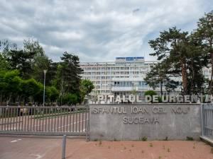 Copilul a ajuns la Spitalul Județean Suceava