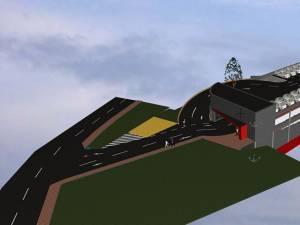 Proiectul de amenajare a parcării supraterane de pe strada Ştefan Tomşa