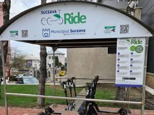 Suceava EcoRide - sistemul de închiriere trotinete electrice devenit funcțional la finalul lunii aprilie