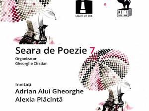 Poeții Adrian Alui Gheorghe și Alexia Plăcintă, invitați la o nouă seară de poezie organizată de Casa de Poezie Light of ink