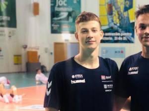 Codrin Radu şi Daniel Stanciuc fac parte din lotul de juniori al României