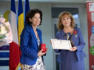 Prof. univ. DHC Sanda-Maria Ardeleanu i s-a decernat Ordinul Național al Franței Legiunea de Onoare în Grad de Cavaler