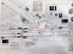 Dispar două treceri de pietoni de pe bulevardul central al Sucevei