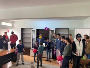 """""""Bucurie prin mişcare"""", acțiune caritabilă organizată pentru copiii cu dizabilități din Gura Humorului și Fălticeni"""