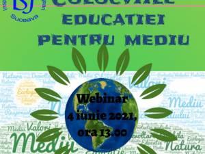 """""""Colocviile educației pentru mediu"""", activitate online, vineri, de Ziua Mediului"""