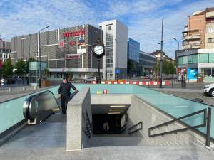 Dan Cuşnir dă ca exemplu un pasaj subteran din Râmnicu Vâlcea
