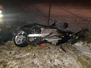 Imagini de coșmar la locul accidentului