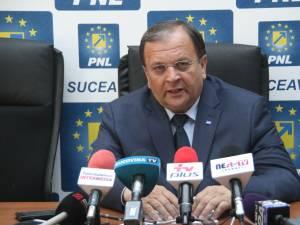 Gheorghe Flutur și-a anunțat candidatura pentru un nou mandat de președinte al PNL Suceava