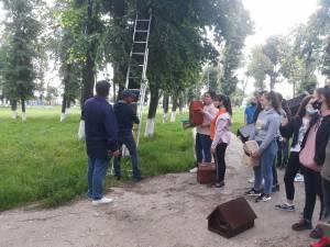 """Activități de protejare a mediului înconjurător, la Liceul Tehnologic """"Mihai Eminescu"""" Dumbrăveni"""