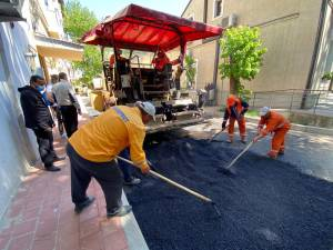 Lucrările de reabilitare și modernizare a străzii Ion Grămadă din centrul municipiului Suceava au fost finalizate