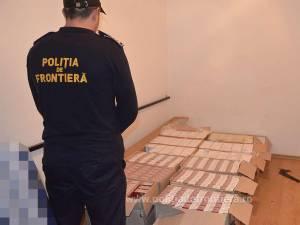 Aproape 10.000 de pachete de țigări reținute la frontiera româno-ucraineană