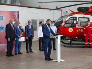 Elicopterul SMURD pentru Câmpulung Moldovenesc a  ajuns în țară