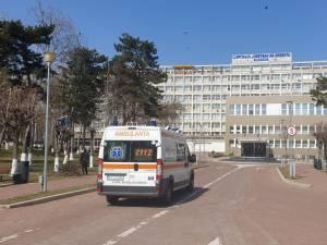 Nonagenara a ajuns la Spitalul Județean Suceava