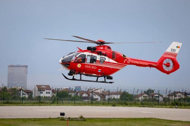 Elicopterul SMURD pentru Câmpulung Moldovenesc a fost livrat de Airbus Helicopters Romania
