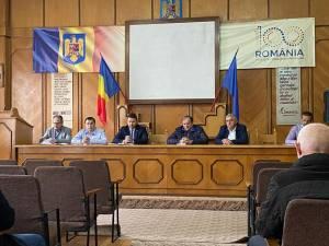 Întrunirea liberalilor rădăuțeni în care a fost ales noul staff al formațiunii politice, cât și biroul politic local PNL Rădăuți