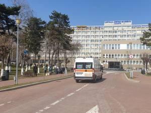 Bărbatul a fost transportat la Spitalul Județean Suceava