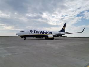 Ryanair a operat prima cursă aeriana pe ruta Suceava - Rhodos