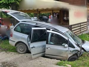 Patru persoane rănite în urma unui accident care a avut loc la Câmpulung Moldovenesc
