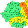 Cod Portocaliu de ploi pentru întreg județul Suceava