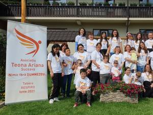 """Tabăra """"Respiro"""", pentru copii cu dizabilități și mamele acestora, organizată la Vama"""