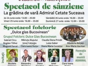 Spectacol de Sânziene și Consurs Miss Sânziana la grădina de vară Admiral Cetate