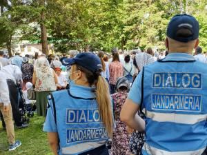 Jandarmii transmit participanților de la serbarea de la Putna să respecte regulile stabilite