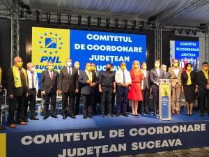 Gheorghe Flutur a fost reales președinte al PNL Suceava în prezenţa lui Florin Cîţu