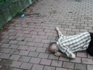 Persoană căzută pe stradă, inconștientă, găsită de polițiștii locali în zona Gării Ițcani