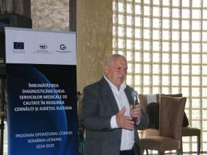Directorul financiar al Spitalului din Gura Humorului, Ovidiu Lazarec