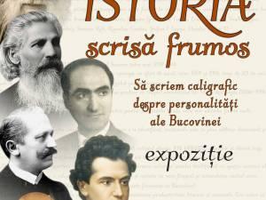 """Au fost desemnați câștigătorii concursului """"Istoria scrisă frumos. Să scriem caligrafic despre personalități ale Bucovinei"""""""