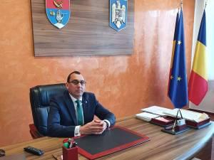 Virgil Saghin, primarul din Vatra Moldoviței