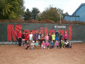 Micii tenismeni suceveni vor concura sâmbătă la Compexul Sportiv Unirea