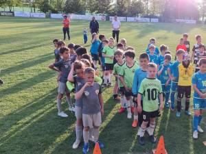 Micii fotbalişti suceveni vor păşi pentru prima dată pe iarba stadionului Areni