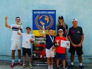 Copiii din judet s-au bucurat de tenis la Cupa Barbera